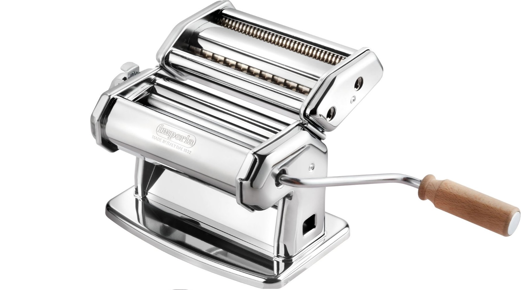 cucinapro imperia pasta machine review pasta maker hq. Black Bedroom Furniture Sets. Home Design Ideas