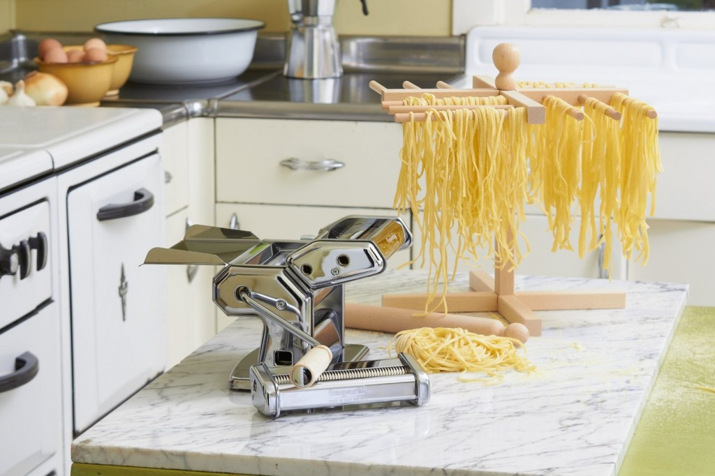 CucinaPro Imperia pasta machine in kitchen
