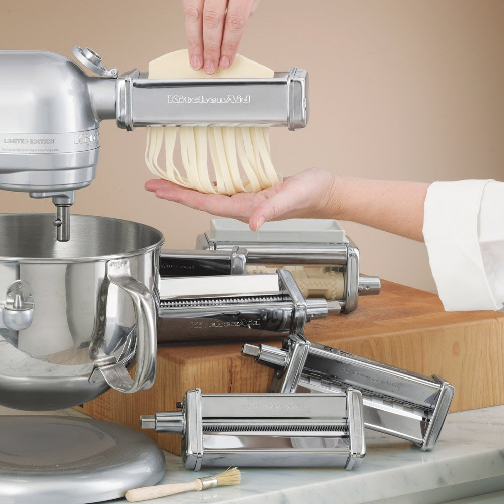 kitchenaid pasta attachments - pasta maker hq