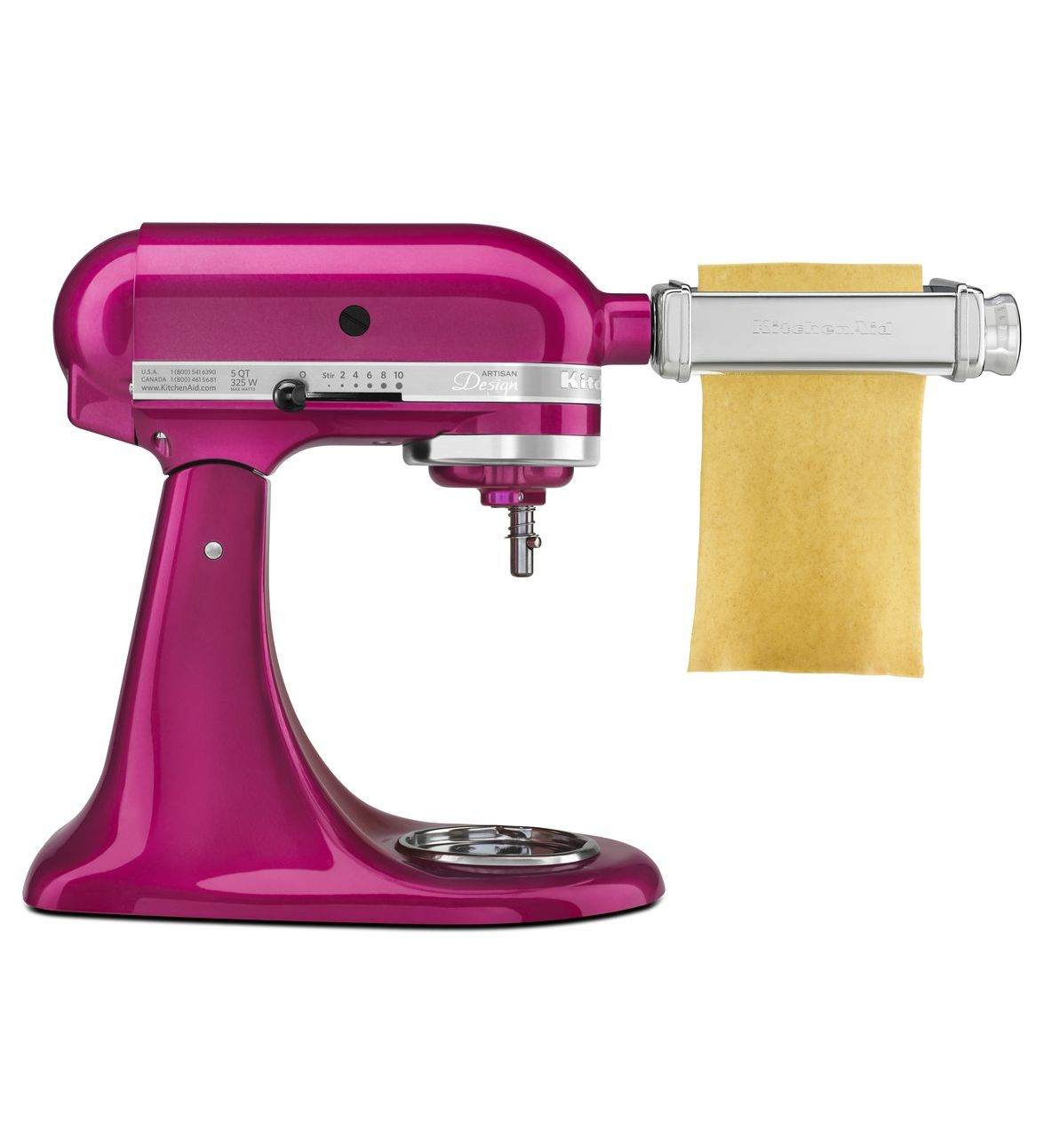 pasta machine kitchenaid attachment